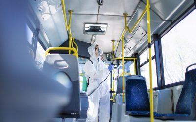 Sanitização e desinfecção em veículos RJ